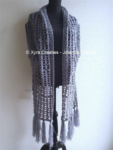 Patr1061 Sjaalvest Vest Xyra Creaties