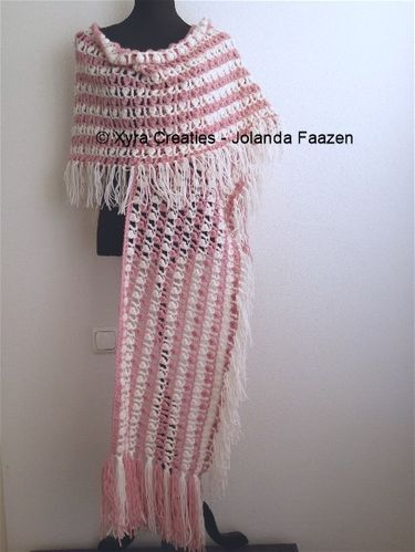 PATR1063 - Shawl with long scarf