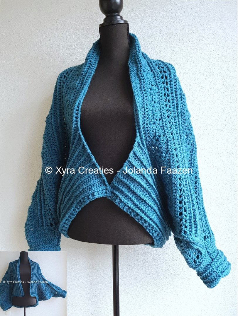Patr1093 Vest Cardigan Upside Down 2 Ways To Wear Xyra Creaties