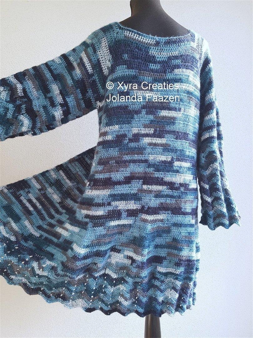 Patr1103 Vest Cardigan Xyra Creaties
