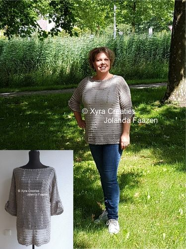 PATR1114 - Shirt - summer sweater