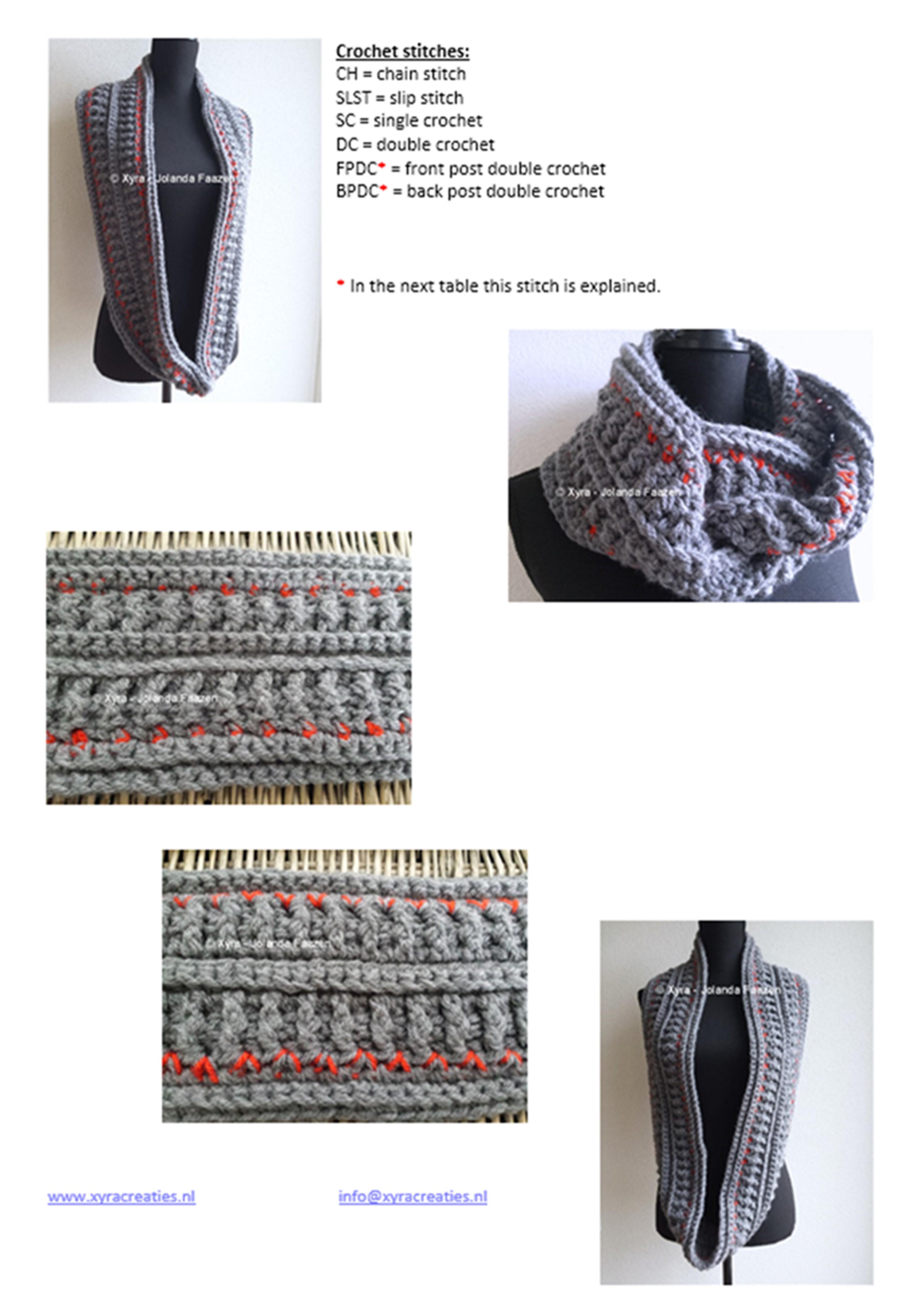 Xyra Creaties - clear crochet patterns